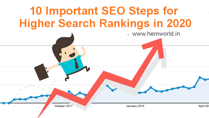 10 Important SEO Steps for Higher Search Rankings in 2020